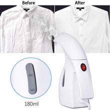 Load image into Gallery viewer, Miss Gorgeous Travel Garment Steamer Portable Handheld Steamer for Clothes/Fabric, Wrinkle Remover/Clean/Sanitize/Sterilize/Defrost, Fast Heat Up Perfect for Home/Travel