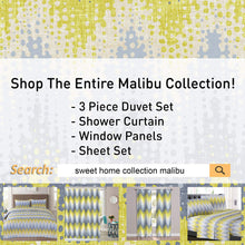 Load image into Gallery viewer, 1500 Supreme Collection Extra Soft Malibu Bright Yellow Blending with Gray Chevron Pattern Sheet Set, Twin- Luxury Bed Sheets Set with Deep Pocket Wrinkle Free Hypoallergenic Bedding, Twin