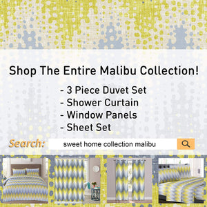 1500 Supreme Collection Extra Soft Malibu Bright Yellow Blending with Gray Chevron Pattern Sheet Set, Twin- Luxury Bed Sheets Set with Deep Pocket Wrinkle Free Hypoallergenic Bedding, Twin