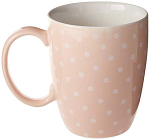 Enesco Pusheen by Our Name is Mud Polkadot Coffee Mug, 12 oz., Pink (4049392) 12 Ounces
