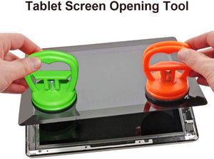 6 Pack Heavy Duty Suction Cups Screen Suction Cup Phone Computer Replacement Screen Repair Tools Compatible for iPad, iMac, MacBook, Tablet, Laptop, iPhone, Samsung, Huawei etc LCD Screen Opening Tool