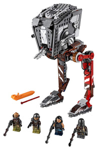 LEGO Star Wars AT-ST Raider 75254 The Mandalorian Collectible All Terrain Scout Transport Walker Posable Building Model, New 2019 (540 Pieces)