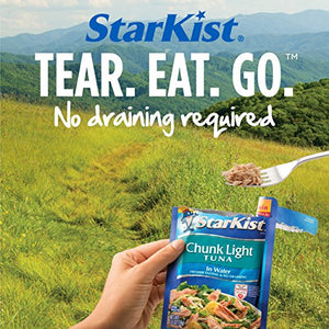 StarKist Chunk Light Tuna in Water – 2.6 Ounce Pouch (Pack of 4) 503750