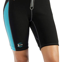 Load image into Gallery viewer, Cressi Lido Short, Black/Aquamarine LV457004 4 x Large