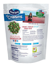 Load image into Gallery viewer, Ocean Spray Craisins Dried Cranberries, Reduced Sugar, 20 Ounce Value Pack
