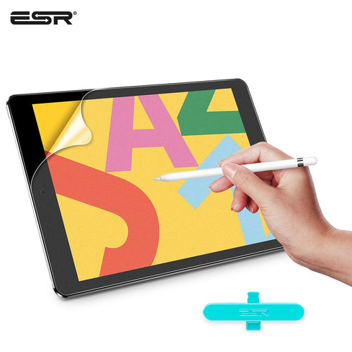 ESR Screen Protector for iPad Pro 10.5 2017/iPad Air 3 2019/iPad 7th 2019 A1701/A1709/A2152/A2123/A2153/A2197/A2200/A2198 Film
