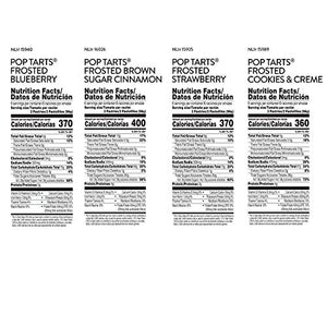 Pop-Tarts Four Flavor Variety Pack, 60 Count NEW-Variety Pack