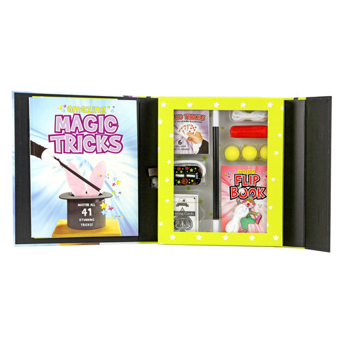 SpiceBox Kits for Kids Magic Tricks and Paper Planes Bundle