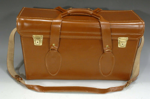 VINTAGE PERRIN THOR I LEATHER CAMERA BAG Model No.12803 Barely Used Rare Find