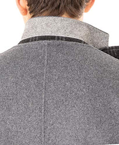 DKNY Men's Regular Overcoat, Grey, 42R DGGAO4NT0021