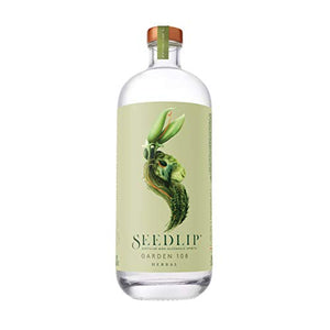 SEEDLIP Distilled Non-Alcoholic Spirits (Garden 108) 002 23.7 Fl Oz Clear Glass Bottle