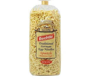 Bechtle Bavarian Style Spaetzle Traditional German Egg Noodles, 17.6 Ounce (2 Bags)