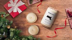 Homesick Scented Candle, Indiana