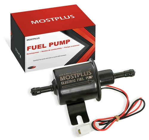 Electric Low Pressure Fuel Pump For Motorcycle 12V Carburetor EP-02 ATV Carb