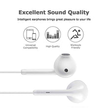 Load image into Gallery viewer, Lighting Connector Earbuds Earphone Wired Headphones Headset with Mic and Volume Control, Stereo Sound,Compatible with iPhone 11 Pro Max/Xs Max/XR/X/7/8 Plus Plug and Play Repair Kits