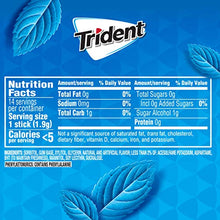 Load image into Gallery viewer, Trident Original Flavor Sugar Free Gum - with Xylitol - 12 Packs (168 Pieces Total) 012546011082