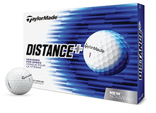 Load image into Gallery viewer, TaylorMade 2018 Distance+ Golf Ball, White (One Dozen) B1355601 Large