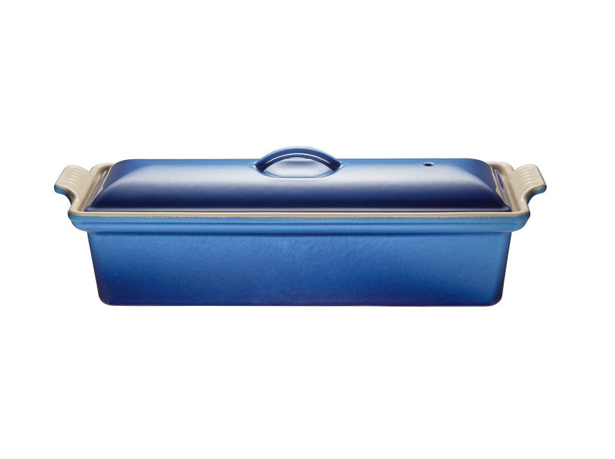 Le Creuset Pâté Terrine Enamelled Cast Iron    1.8 L Blueberry