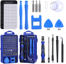 Load image into Gallery viewer, 122 in 1 Professional Laptop Repair Screwdriver Set, Precision PC, Computer Repair Kit, with 101 Magnetic Bit and 21 Practical Repair Tools, Suitable for MacBook, Tablet, PS4, Xbox Controller Repair