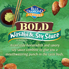 Load image into Gallery viewer, Blue Diamond Almonds, Bold Wasabi & Soy Sauce, 16 Ounce (Pack of 1) 10041570055370 16oz_Bags Na