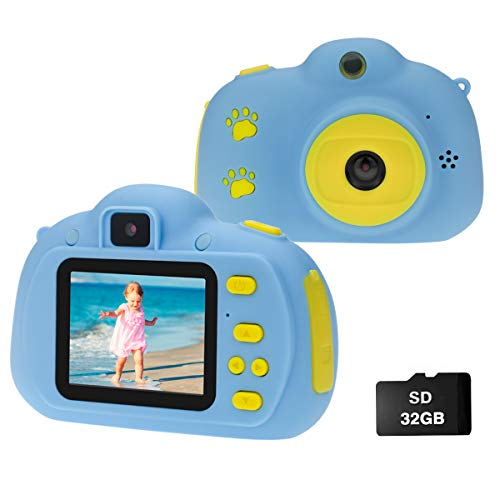 Cocopa Camera for Kids Cameras for Girls Video Camera 32 GB TF Card Toys for 5...