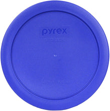 Load image into Gallery viewer, Pyrex 7201-PC Round 4 Cup Storage Lid for Glass Bowls (3, Light Blue)