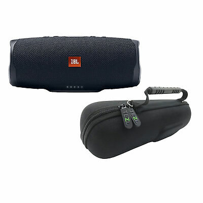 JBL KIT-JBLCHARGE4BLKAM-TEZL-BTSPK-JCHRG34 Charge 4 Bundle + TEZL Case - Black