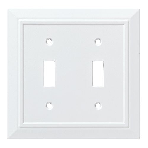 Franklin Brass W35244-PW-C Classic Architecture Double Switch Wall Plate/Switch...
