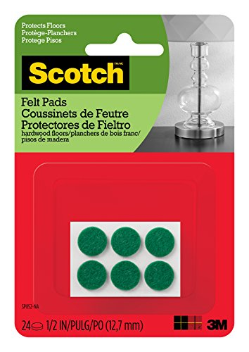 Scotch Mounting, Fastening & Surface Protection Scotch Felt Pads, Felt...