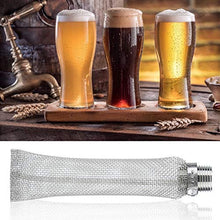Load image into Gallery viewer, Fdit 1/2in NPT Stainless Steel Home Beer Brewing Filter Screen Mesh Filter for...