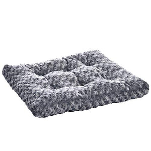 Basics Pet Dog Bed Pad, 35 x 23 x 3 Inch, Grey Swirl DF2018201-35 35-Inch