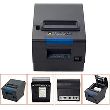 Load image into Gallery viewer, 3'1/8 80mm Thermal Receipt Printer, MUNBYN POS Printer with Auto Cutter, USB Serial Ethernet Windows Driver ESC/POS RJ11 RJ12 Cash Drawer 80mm Classic Receipt Printer
