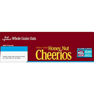 Honey Nut Cheerios, Cereal with Oats, Gluten Free, 27.2 oz 27.2 Ounce (Pack of 1) N/a