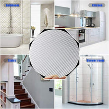 "Load image into Gallery viewer, DaskFire Bath Tub Stickers, Non Slip Bathtub Treads, Anti Slip Shower Sticker, Safety Discs Decals Tape for Slippery Tubs Showeroom Floor Stairs(Slip Resistant Decals, Clear, 3.2"" x 24 Pack) 8541786664 Clear Treads"