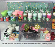 Load image into Gallery viewer, LPSIFY LPS Littlest Pet Shop 6 PC Random Coffee Food Accessories Lot