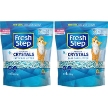 Load image into Gallery viewer, Fresh Step Crystals, Premium Cat Litter, Scented, 8 Pounds (Pack of 2)
