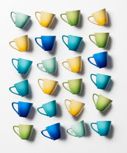 Load image into Gallery viewer, Le Creuset Set of Minimalist Espresso Cups Stoneware   0.07 L Diameter 11.5 cm Blueberry