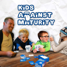 Load image into Gallery viewer, Kids Against Maturity: Card Game for Kids and Humanity, Super Fun Hilarious for Family Party Game Night