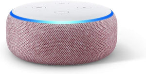 Basics Microwave bundle with Echo Dot (3rd Gen) - Plum