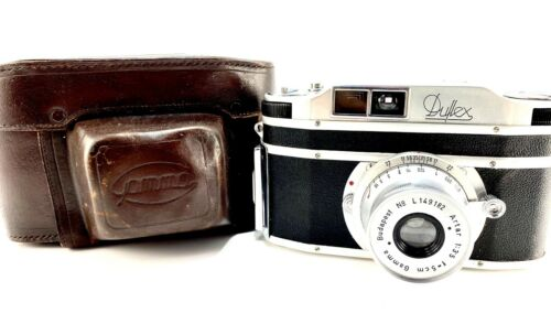 Ultra Rare Gamma Duflex Hungarian Camera w/ Artar Lens Beautifully Restored CLAd