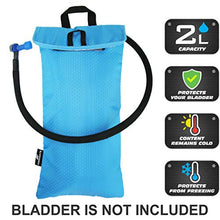 Load image into Gallery viewer, FREEMOVE Cooler Bag Protective Sleeve for 2L or 3L Hydration Water Bladder | Keeps Water Cool & Protects The Bladder | Lightweight & Water Resistant | Bladder is NOT Included 2l Sky Blue