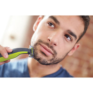Philips OneBlade Wet & Dry Electric Shaver (QP2520/21) - Lime Green