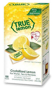 True Citrus True Lemon Bulk Dispenser Pack, 0.028 Ounce  (100 Packets) 90-1021 0.028 Ounce (100 Packets) Red