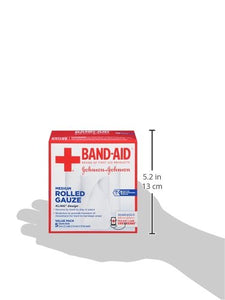 Band-Aid Band Aid Brand of First Aid Products Flexible Rolled Gauze Dressing for Minor Wound Care, Soft Padding and Instant Absorption, 3 Inches by 2.1 Yards, Value Pack 5 ct 381371161409 5 Count N/a