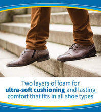 Load image into Gallery viewer, Dr. Scholl's AIR-PILLO Insoles // Ultra-Soft Cushioning and Lasting Comfort with Two Layers of Foam that Fit in Any Shoe (One Size fits Men's 7-13 & Women's 5-10)