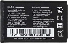 Load image into Gallery viewer, LG LGIP-531A 950mAh Replacement Battery For LG Feacher Flip Phones Black