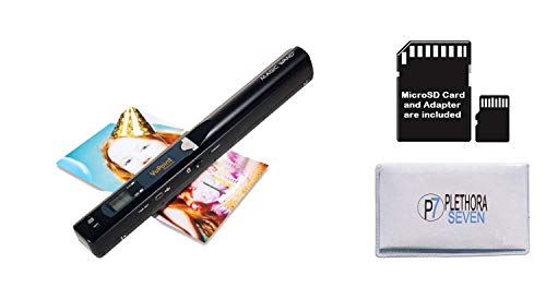 VuPoint Solutions ST415 Handheld Magic Wand Portable Scanner Kit for Document and Image - OCR Software, JPG/PDF, 900DPI, Color/Mono PDS-ST415-VP Bundle w/ 8GB SD PDS-ST415-VP.CARD.8GB.P7-CLOTH