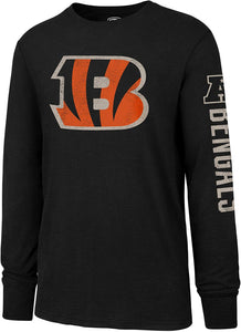 NFL Men's OTS Slub Long Sleeve Team Name Tee