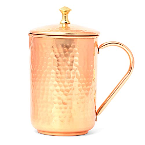 Isha Copper Pitcher - Copper Jug For Water