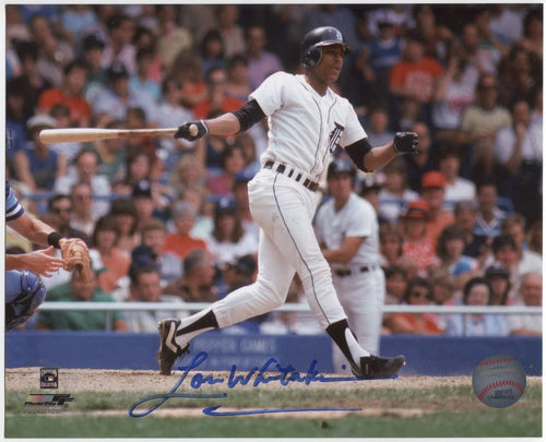 Lou Whitaker Detroit Tigers MLB 16x20'' Autographed Photo w/Inscription